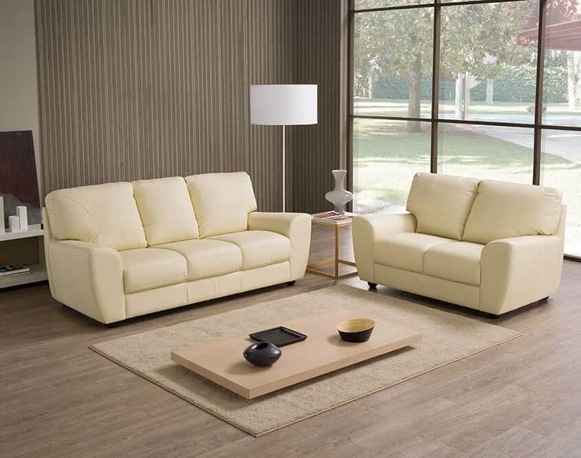 Divano fisso modello tesi arredamento zona giorno divani e poltrone divani fissi - Divano tre posti ...