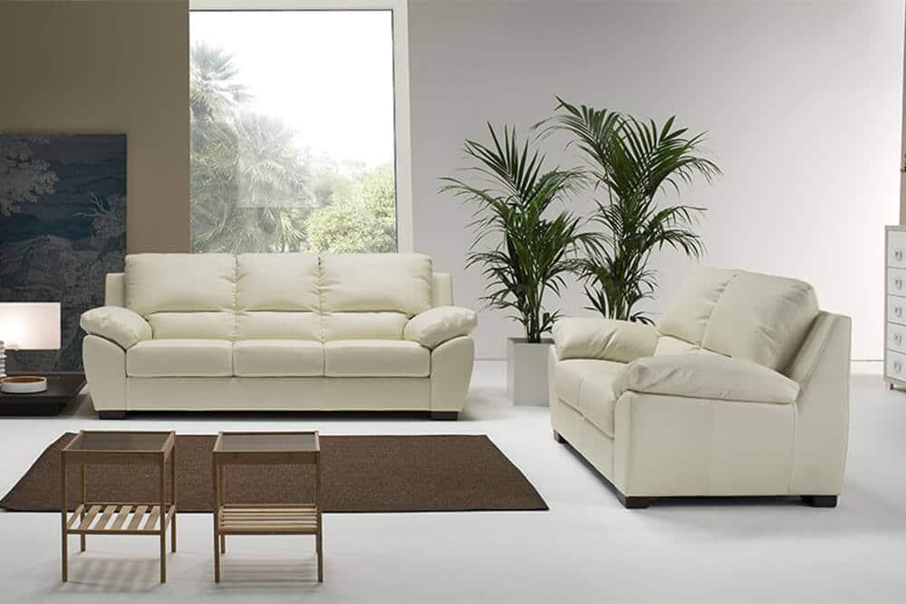 Divano fisso modello nia arredamento zona giorno divani fissi - Misure divano tre posti ...
