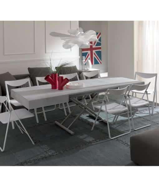 Tavolino da salotto o tavolo da pranzo entrambi - Tavolino salotto trasformabile tavolo pranzo ...