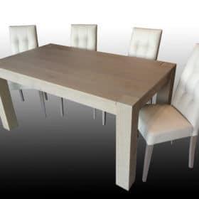 Tavolo Allungabile in Rovere in Svendita da Esposizione Fox