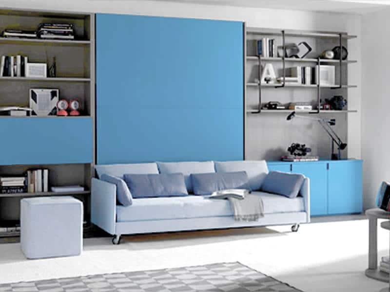 letto a scomparsa modello abacus sofa e divano-con-ruote-spostandolo-diventerebbe-un-terzo-letto