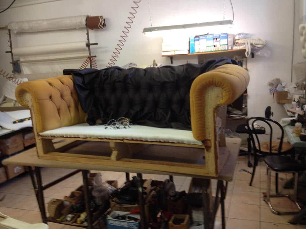, Rifacimento divano – Rifoderare poltrona – Restauro