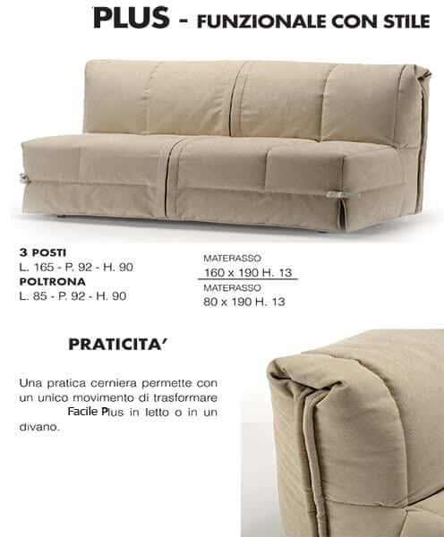 Pronto letto divano facile divani letto in offerta for Divano letto pronto