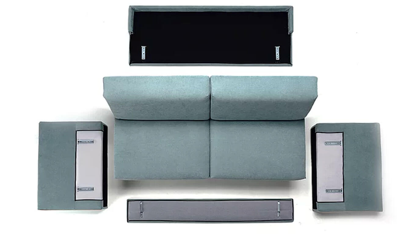 Divano letto h20 svuota tutto arredamento in svendita divani in svendita letti in svendita - Divano letto con materasso alto ...
