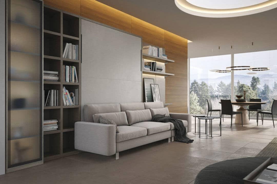 Composizione-living-a-scomparsa-con-divano-con-piedi-alti-a-tre-cuscini-seduta-1080x720- salvaspazio
