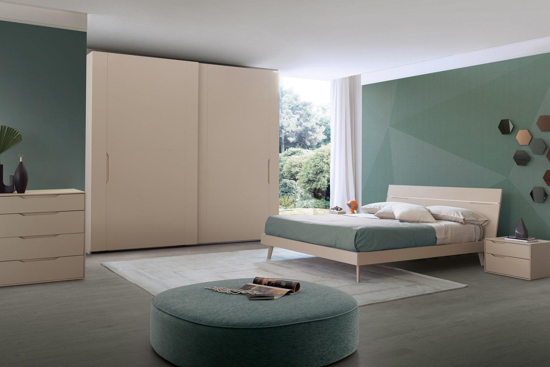 Camera da letto con armadio scorrevole Modello Aquileia ...