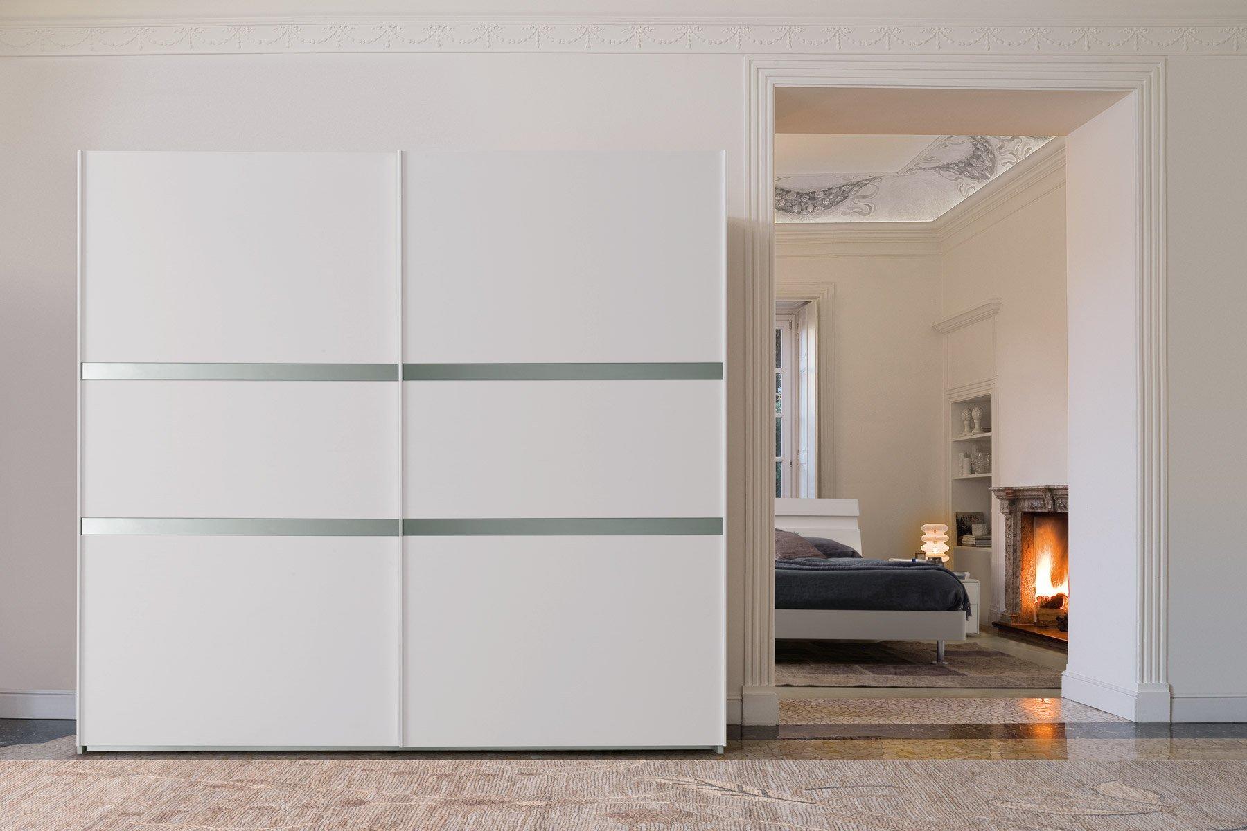 Camera da letto con armadio scorrevole Modello Monzina ...