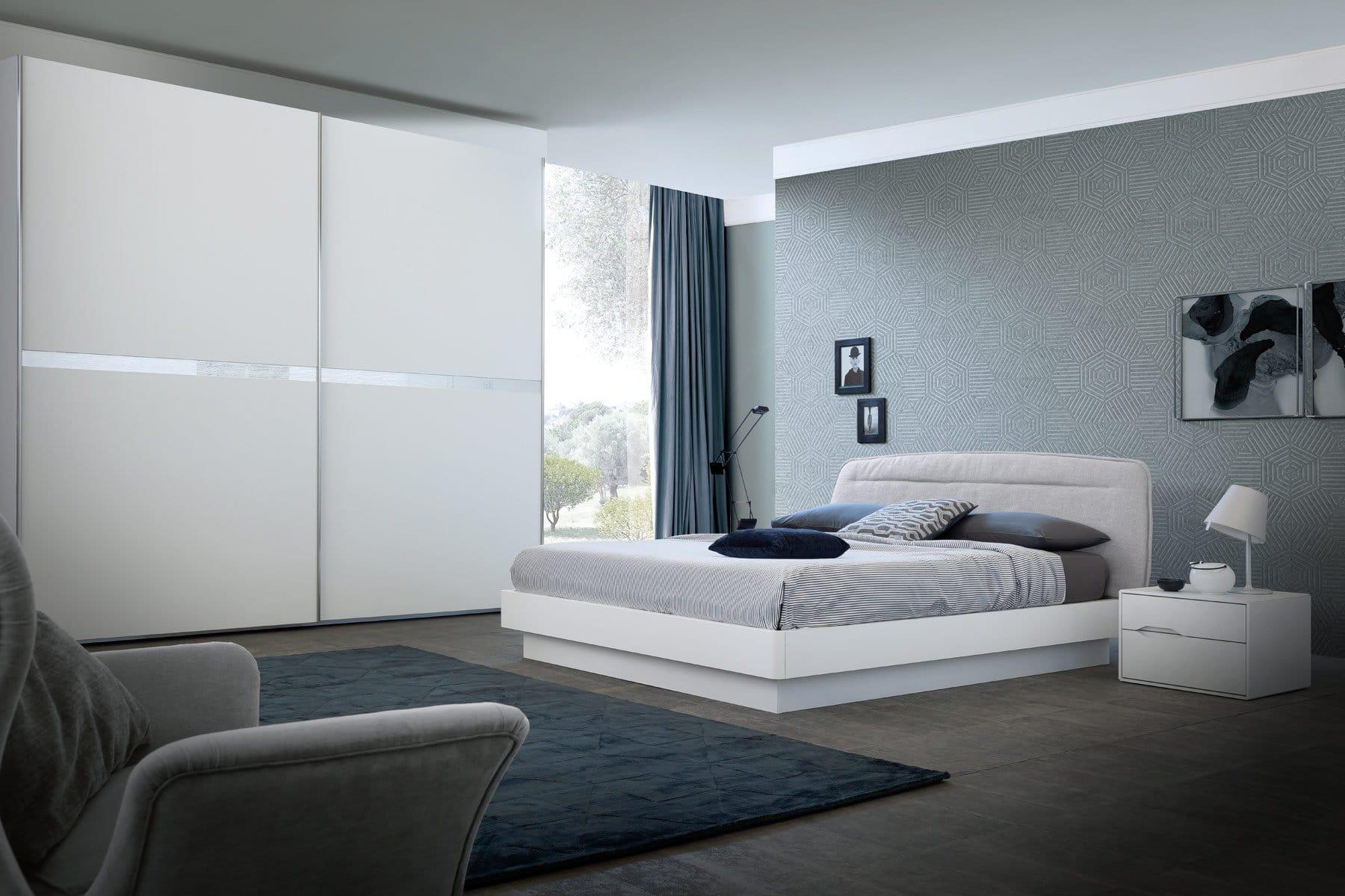 Camera da letto con armadio scorrevole Modello Parigina