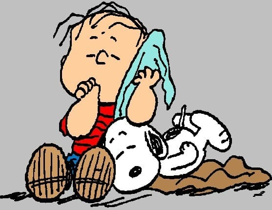 Linus e la sua coperta