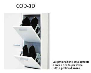 , Scarpiera artigianale Cologno serie 3