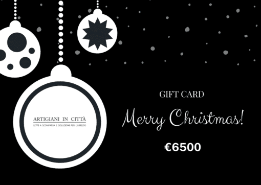 , Gift Card Speciale Natale
