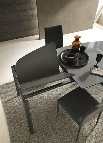 , Tavolo da Pranzo Allungabile Modello Robot