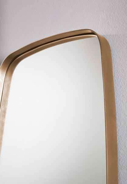Specchiera Pina con Specchio in Vetro Argentato 4 mm
