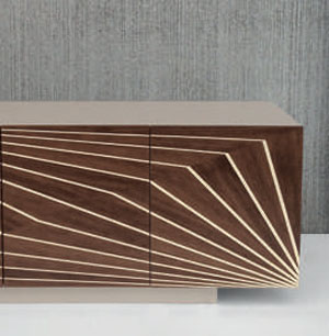 Madia Design in MDF Laccato Modello Ottica