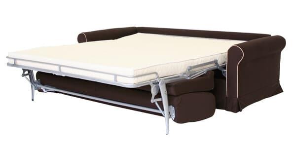 Divano letto modello bonita classico convertibile - Divano letto aperto ...