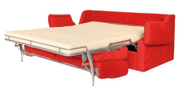 Divano letto modello luna arredamento zona giorno divani - Divano letto aperto ...