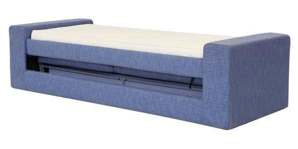 Divano letto modello milano girevole singolo arredamento zona giorno divani e poltrone divani - Divano letto 1 posto ...