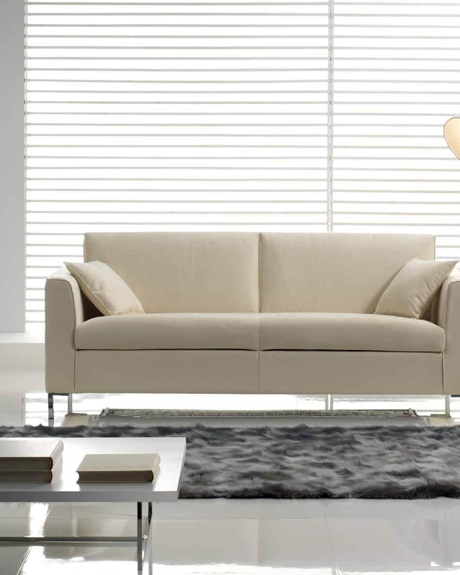 Divano letto modello attico arredamento zona giorno for Arredamento attico