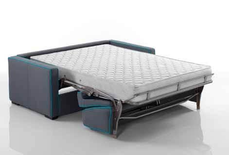 Divano letto modello stilo arredamento zona giorno divani - Divano letto aperto ...