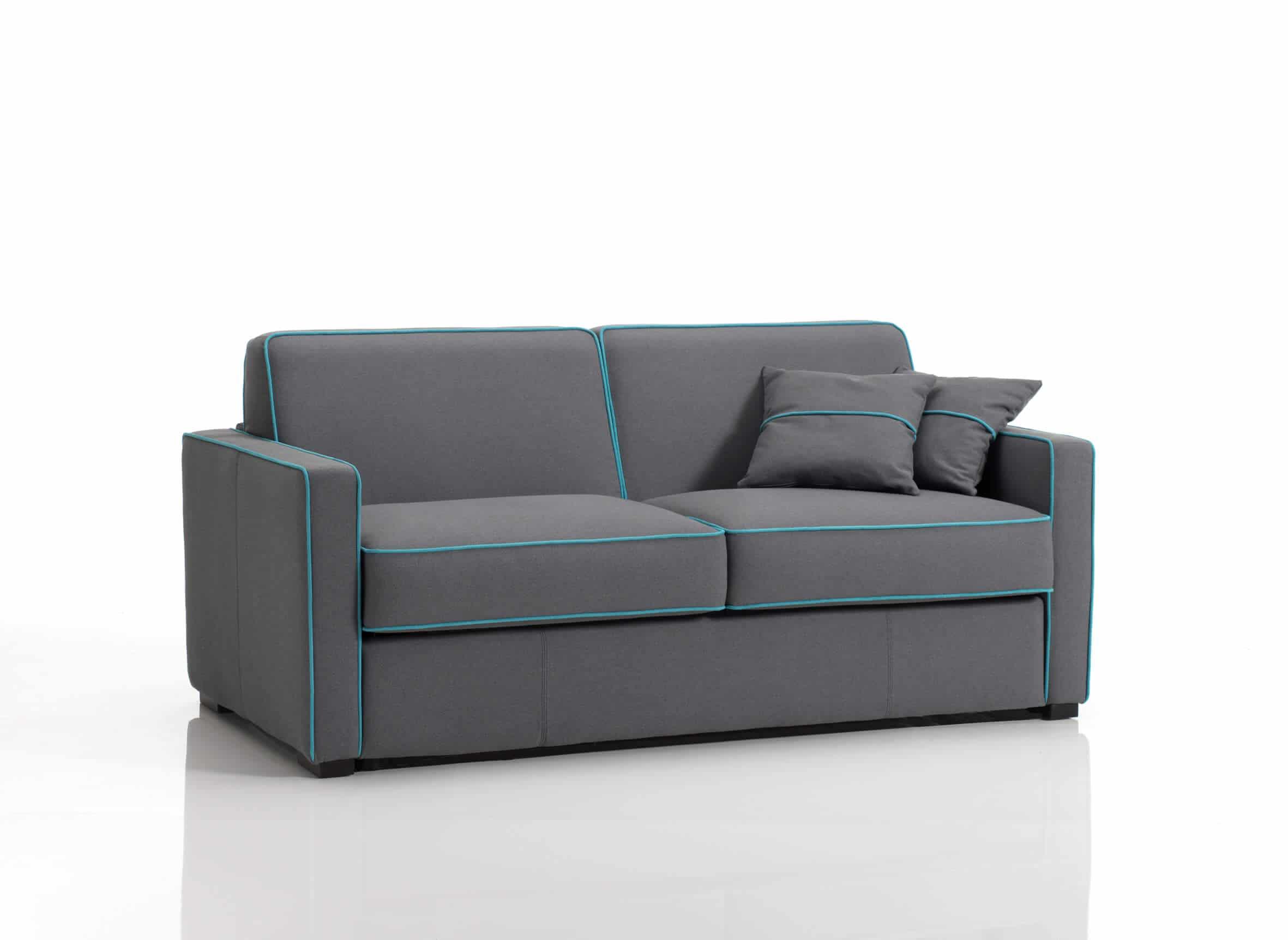 Divano letto modello stilo arredamento zona giorno divani - Letto a divano ...