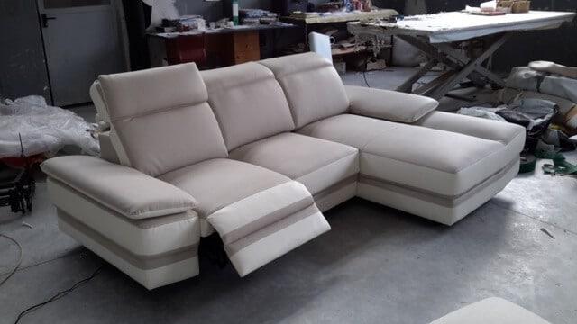 Divano modello kyoto zona giorno divani e poltrone - Copridivani angolari con cuscini fissi ...