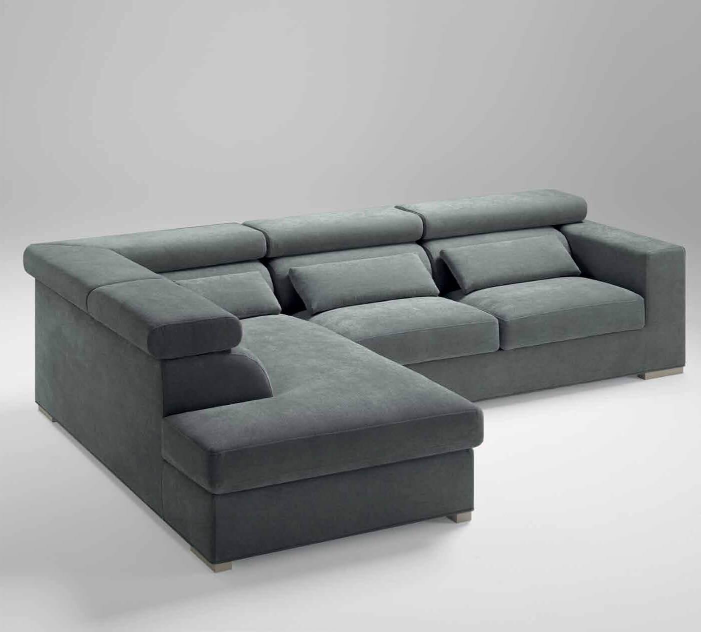 Divano con sedute estraibili modello narcisa arredamento zona giorno divani e poltrone relax - Divano letto scorrevole ...