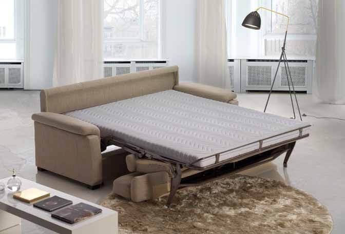 Divano letto modello collina arredamento zona giorno divani e poltrone divani letto - Divano letto aperto ...
